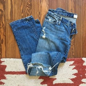 Abercrombie & Fitch Erin Ripped Jeans size 0S